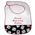"""Future Mah Jongg Player"" Baby Bib"