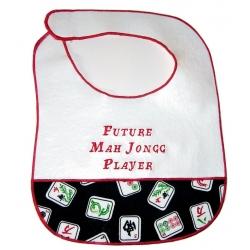 """Future Mah Jongg Player"" Baby Bib"