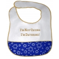 """I'm Not Crying I'm Davening"" Baby Bib"
