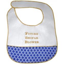"""Future Shofar Blower"" Baby Bib"