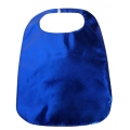 Adult Clothing Protector Blue Lamey Bib