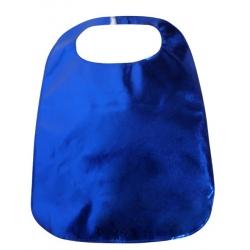 Adult Clothing Protector Blue Lamey Bib
