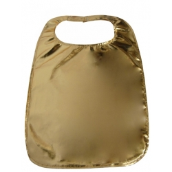 Adult Gold Lamey Bib