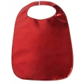 Adult Clothing Protector Red Lamey Bib