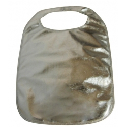 Adult Clothing Protector Silver Lamey Bib