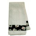 Black Mah Jongg Towel