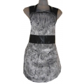Faux-Fur Chinchilla Apron