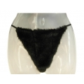 Ladies Faux-Fur Mink G-String