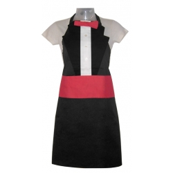 Red Tuxedo Adult Apron