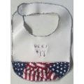 """Vote""  (with Jewish saying) Baby BIbs"